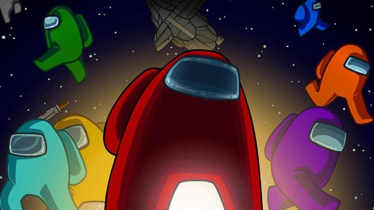 Ilustração de Among Us, um dos jogos multiplayer mais premiados em 2020