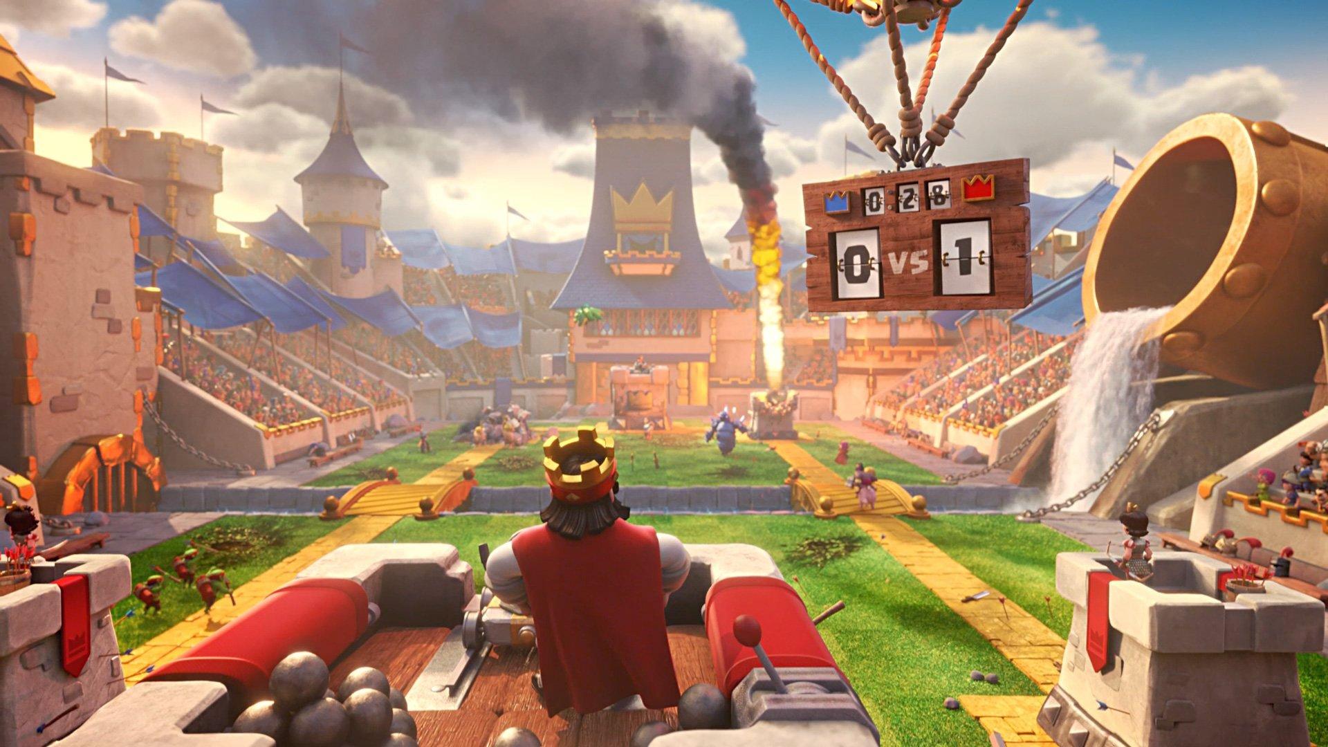 Clash Royale é um jogo de cartas e estratégia disponível para Android e iOS (Foto: Divugalção/Supercell)