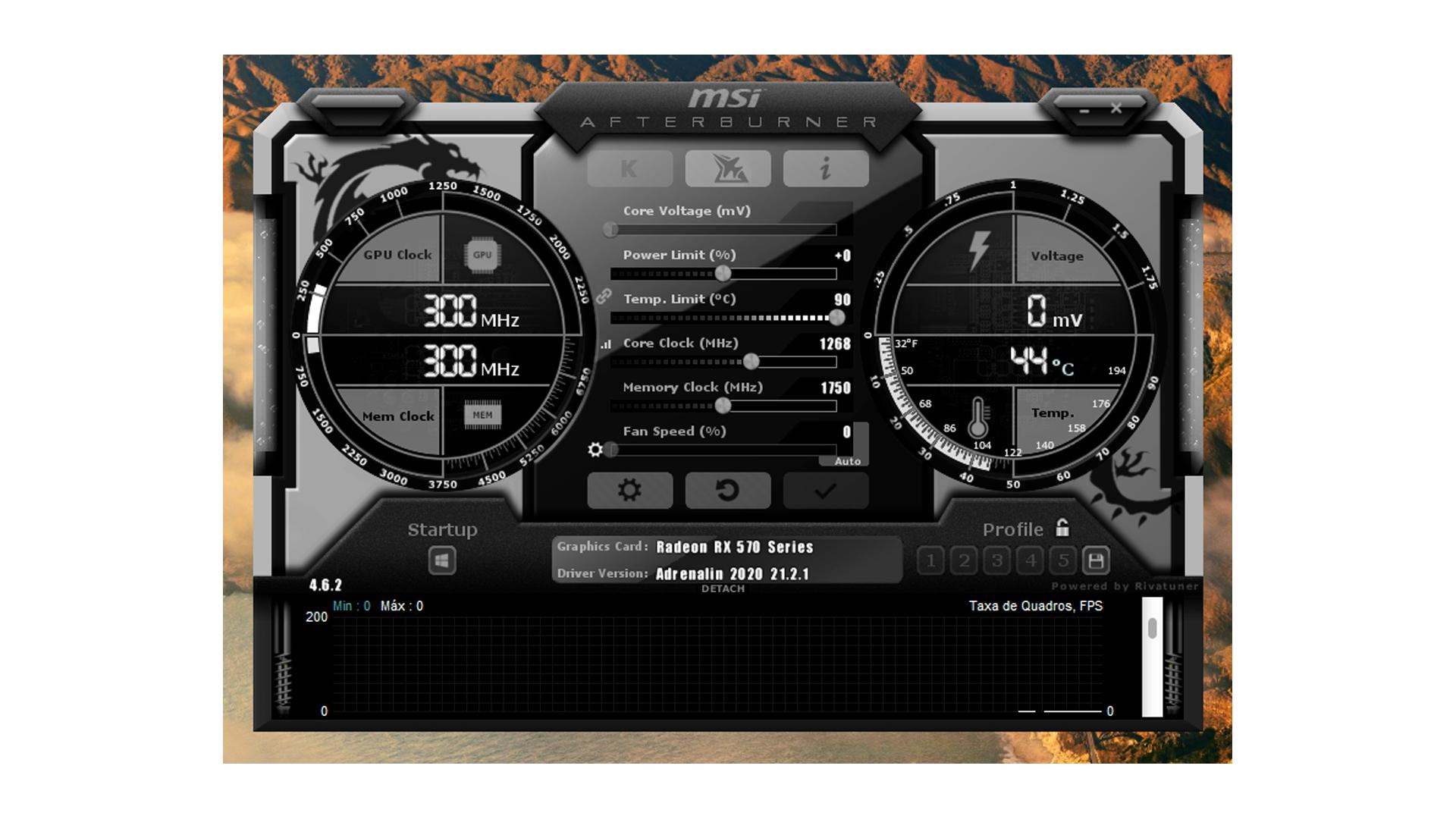 Como fazer overclock de GPU: utilize o MSI Afterburner (Foto/Hugo Iwaasa)