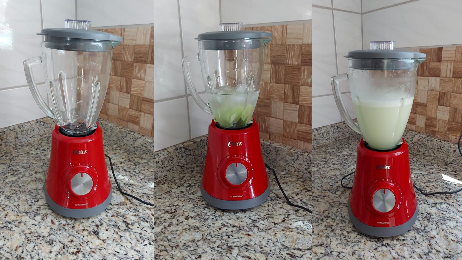 """A tampa do liquidificador Oster Super Chef pode """"escorregar"""" durante o uso (Foto: Acervo Pessoal/Ariel Cristina Borges)"""