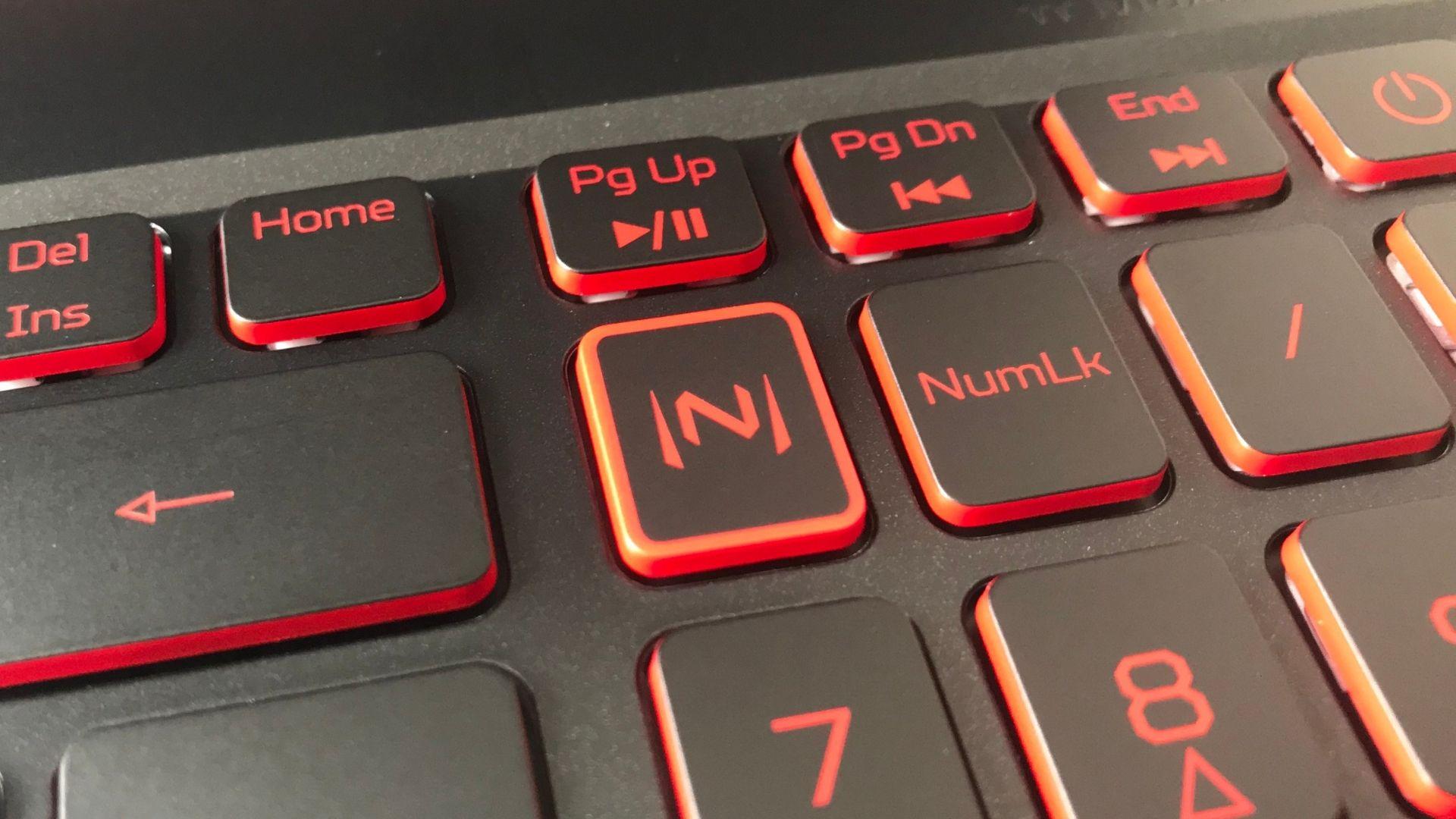 O botão que me deixou a própria Nazaré confusa: para que serviria esse N estilizado? (Foto: Guilherme Toscano)