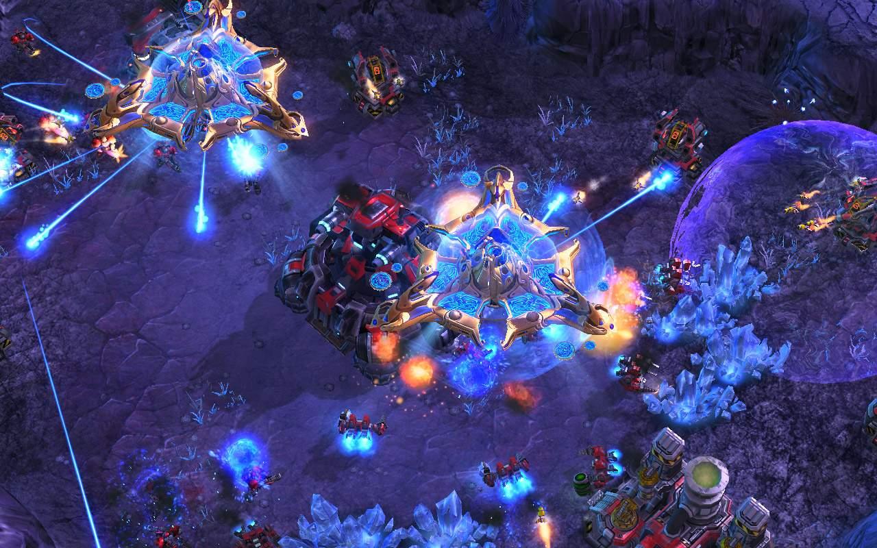 Starcraft II está em seu 11° ano, mas é extremamente popular na Coreia do Sul (Fonte: Blizzard/Divulgação)