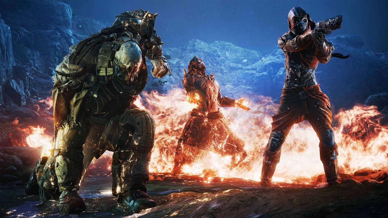 Outriders promete trazer ação e RPG para até três amigos em modo cooperativo (Divulgação: Square Enix)