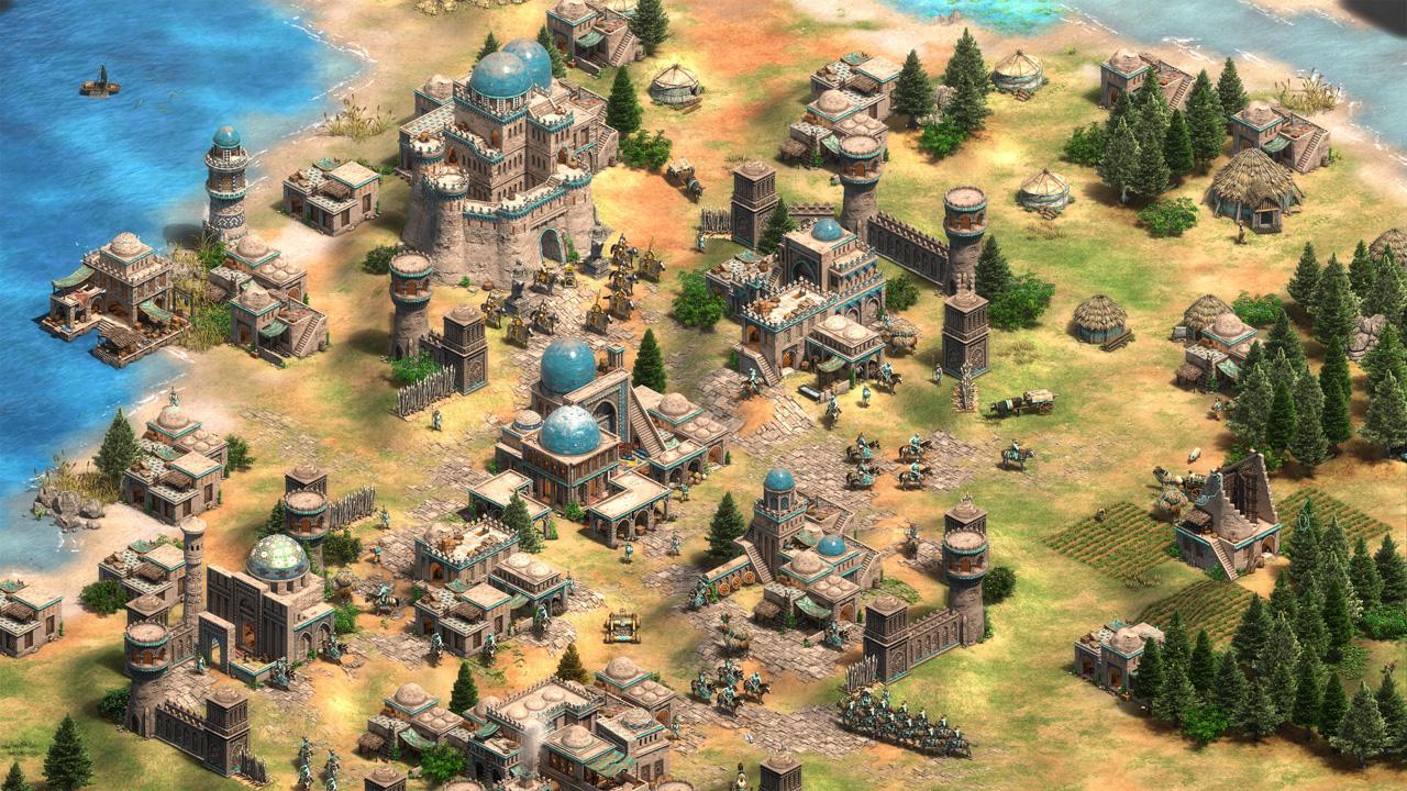 Clássico jogo de estratégia e administração de recursos é desafiador até hoje, mas, com códigos, Age of Empires 2 fica mais fácil (Reprodução: Steam)