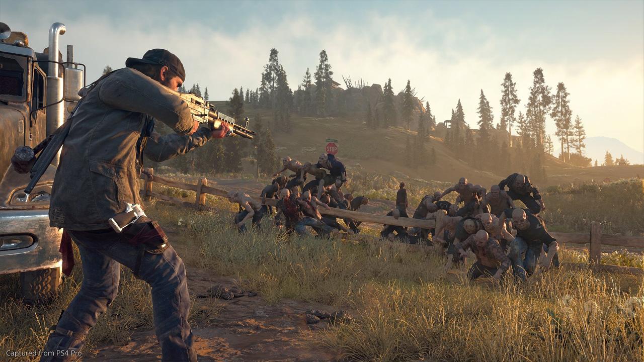 """Days Gone é um jogo de aventura no qual o jogador precisa sobreviver em um mundo infestado de """"zumbis"""" (Reprodução: PlayStation)"""