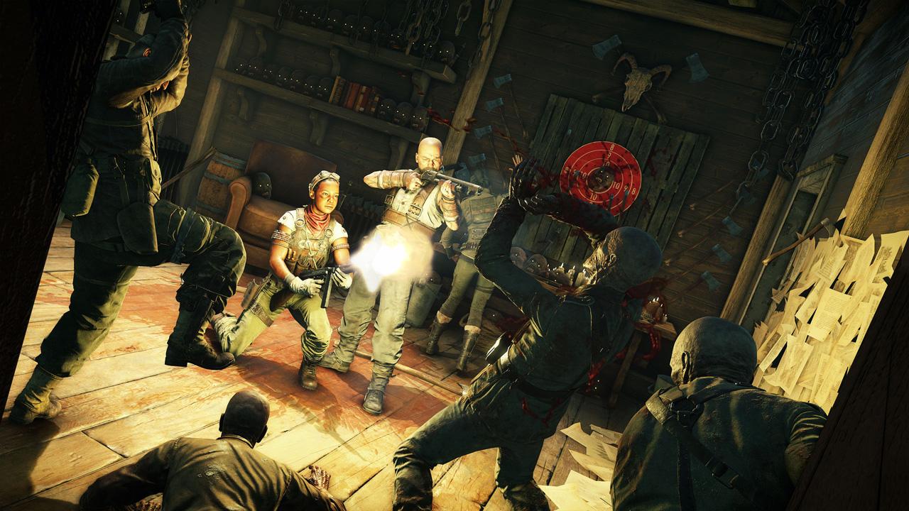 Zombie Army 4: Dead War traz ação multiplayer cooperativa onlne para jogadores que querem exterminar zumbis nazistas (Divulgação: Rebellion Developments)