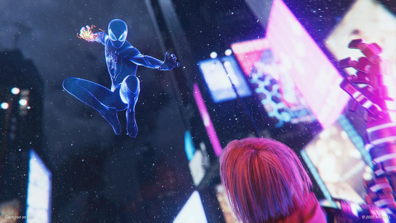 Spider-Man: Miles Morales aproveita as habilidades extras de Miles para oferecer uma nova jogabilidade com base no original (Reprodução: PlayStation Store)