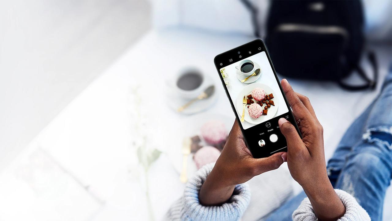 O LG K52 usa inteligência artificial para aprimorar suas fotos. (Foto: Divulgação/LG)