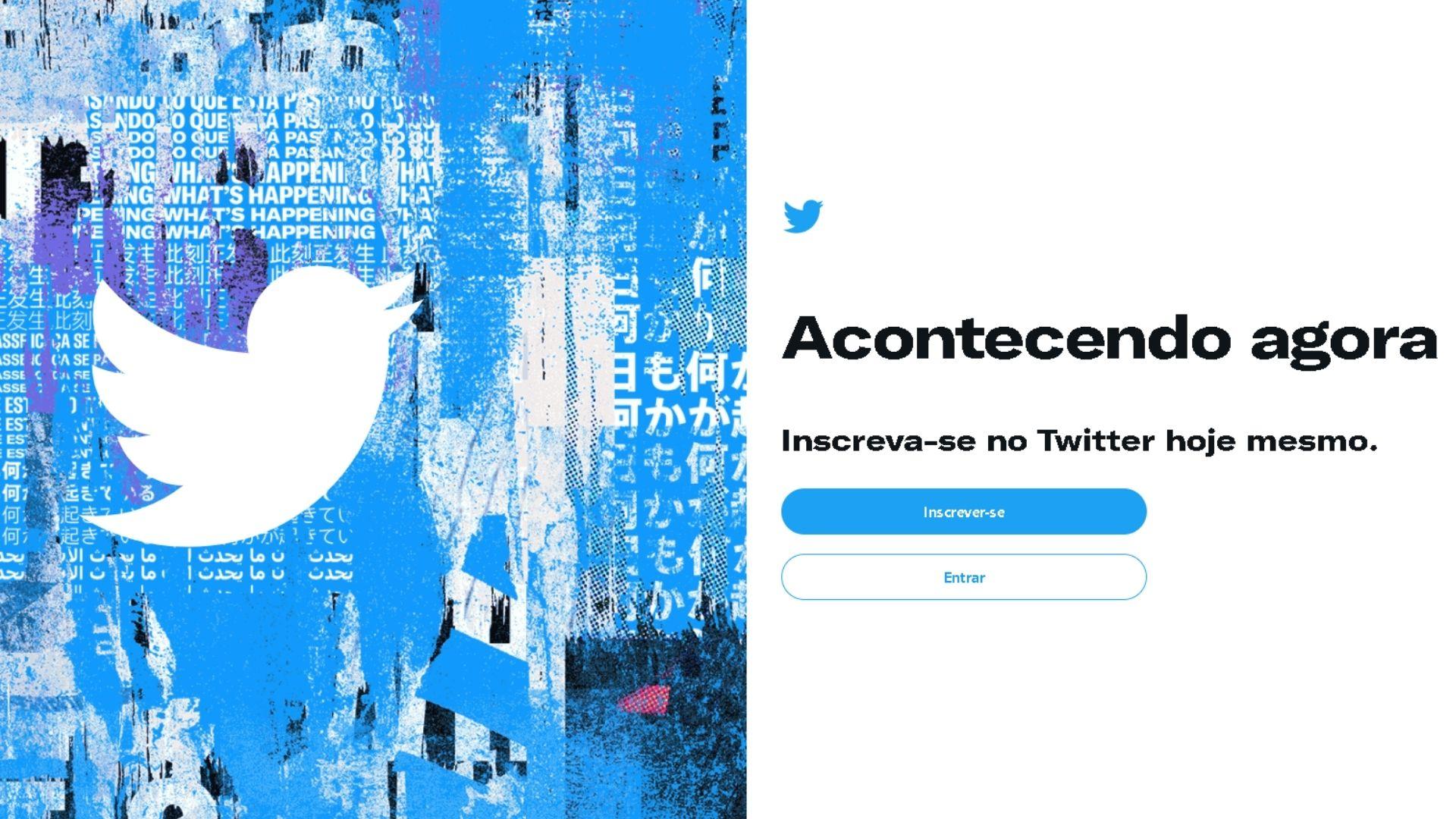 Faça login em sua conta e defina opções de capas para o Twitter para trocar em seu perfil (Foto: Arte / Zoom)