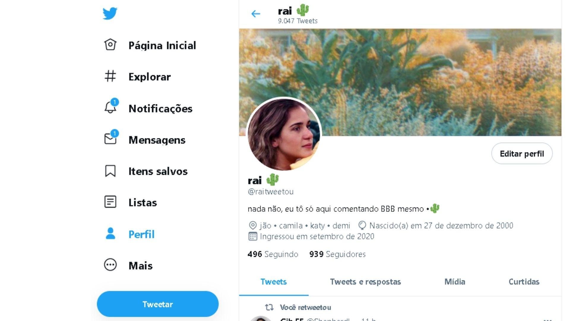 Depois de alterar a capa para Twitter, ela vai refletir em seu perfil (Foto: Arte / Zoom)