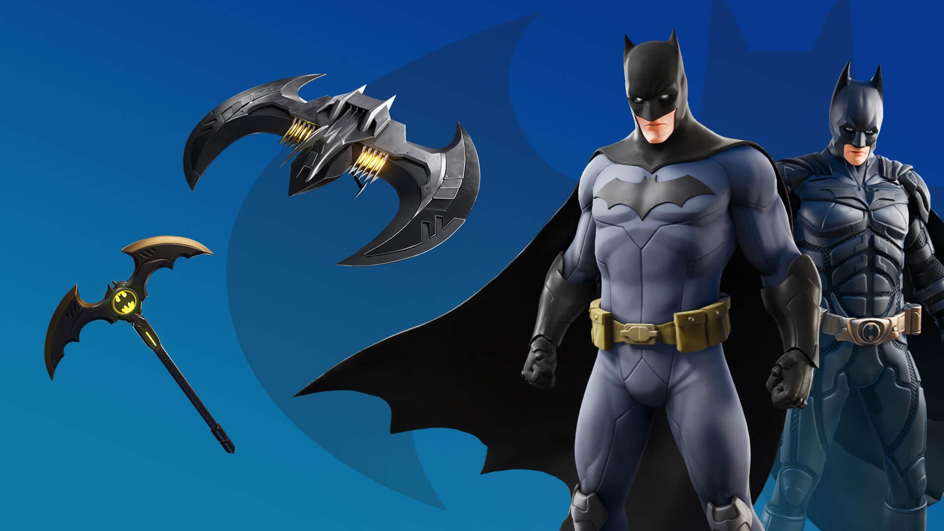 Transforme a ilha em sua Gotham City e vença os adversários para sobreviver até o fim (Foto: Epic Games).