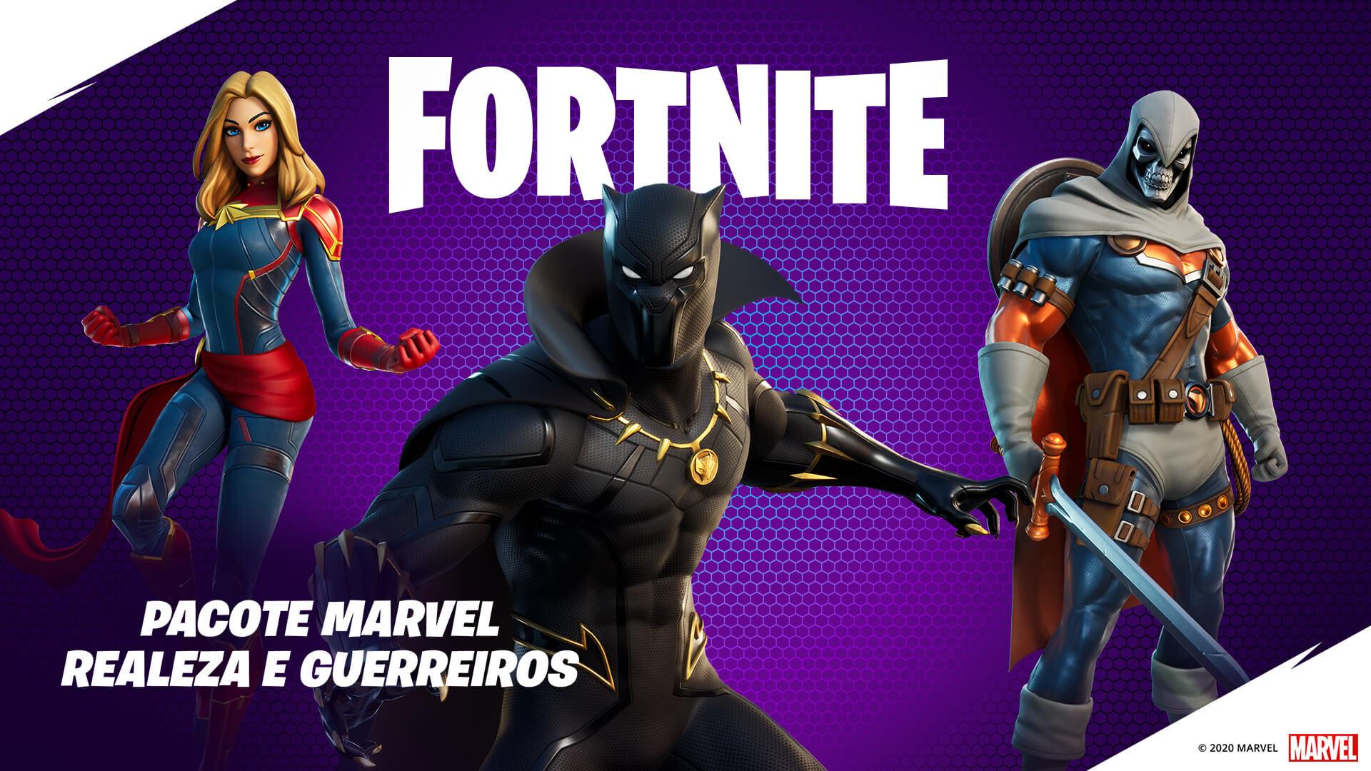 Assuma o papel de alguns dos melhores personagens da Marvel (Foto: Epic Games).