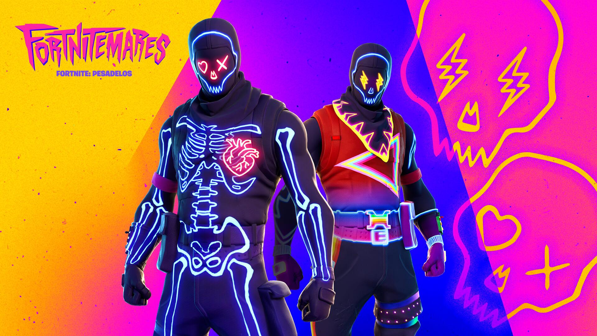 Não impeça que a sua luta pela sobrevivência seja uma festa com as skins Patrulheiros de Festa estilo J Balvin (Foto: Epic Games).