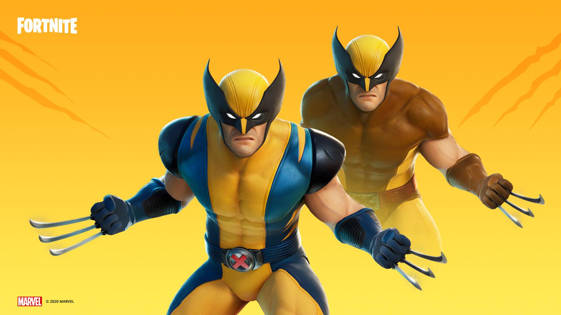 A skin de Fortnite do Wolverine vai te garrar para sobreviver até o final (Foto: Epic Games).