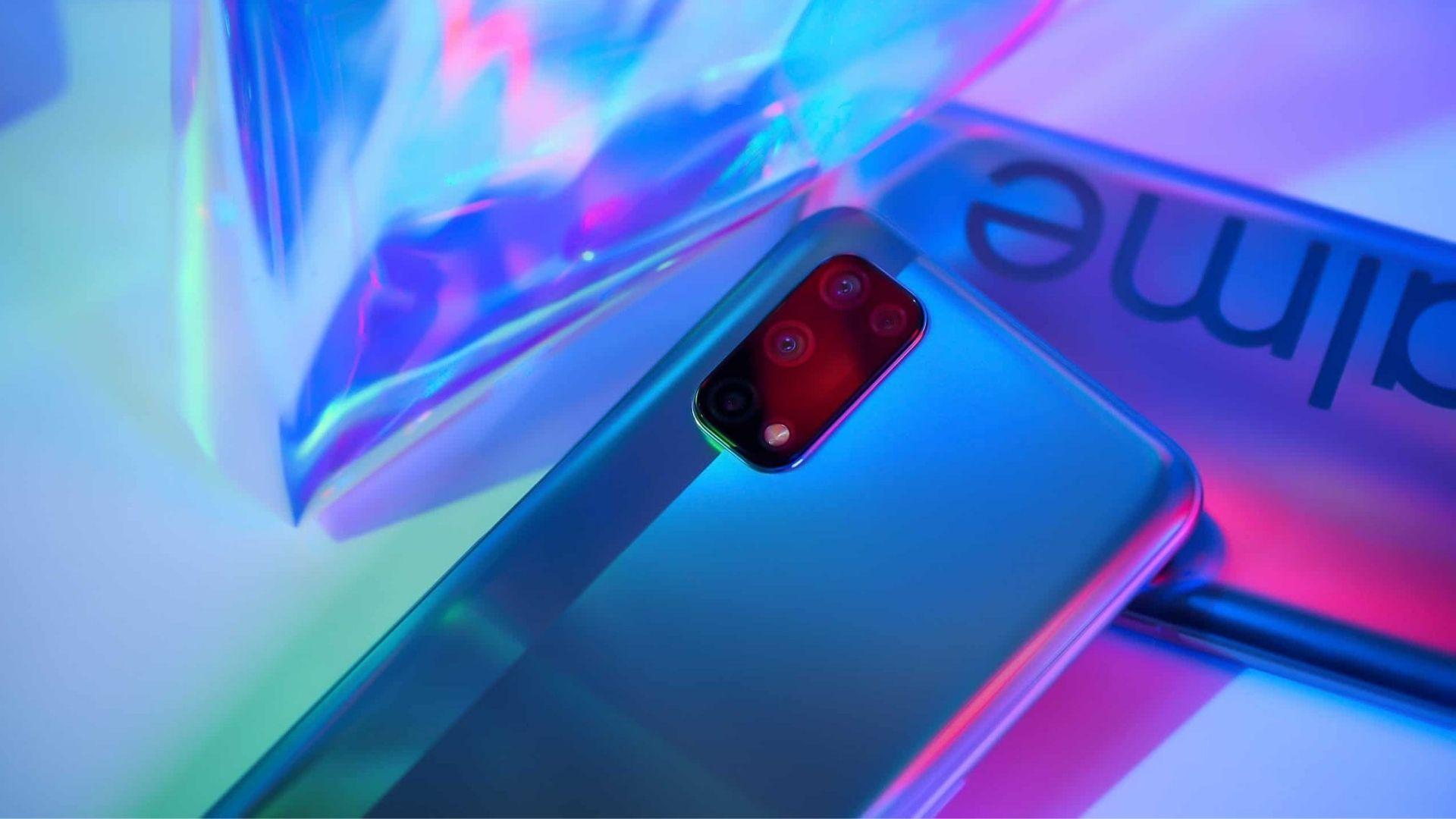 Realme 7 5G vem com memória RAM de 8 GB (Foto: Divulgação/Realme)