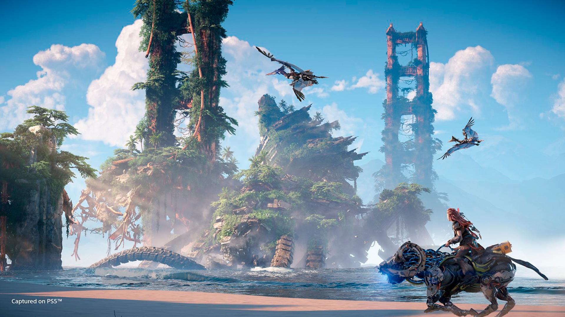 Horizon: Forbidden West se passa após os eventos do primeiro game da série (Foto: Reprodução/Sony)