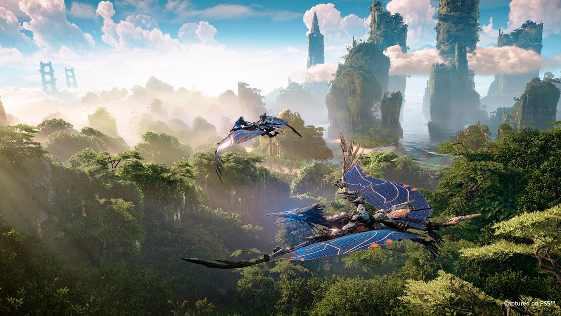 O gameplay de Horizon: Forbbiden Wes promete evoluções (Foto: Reprodução/Sony)