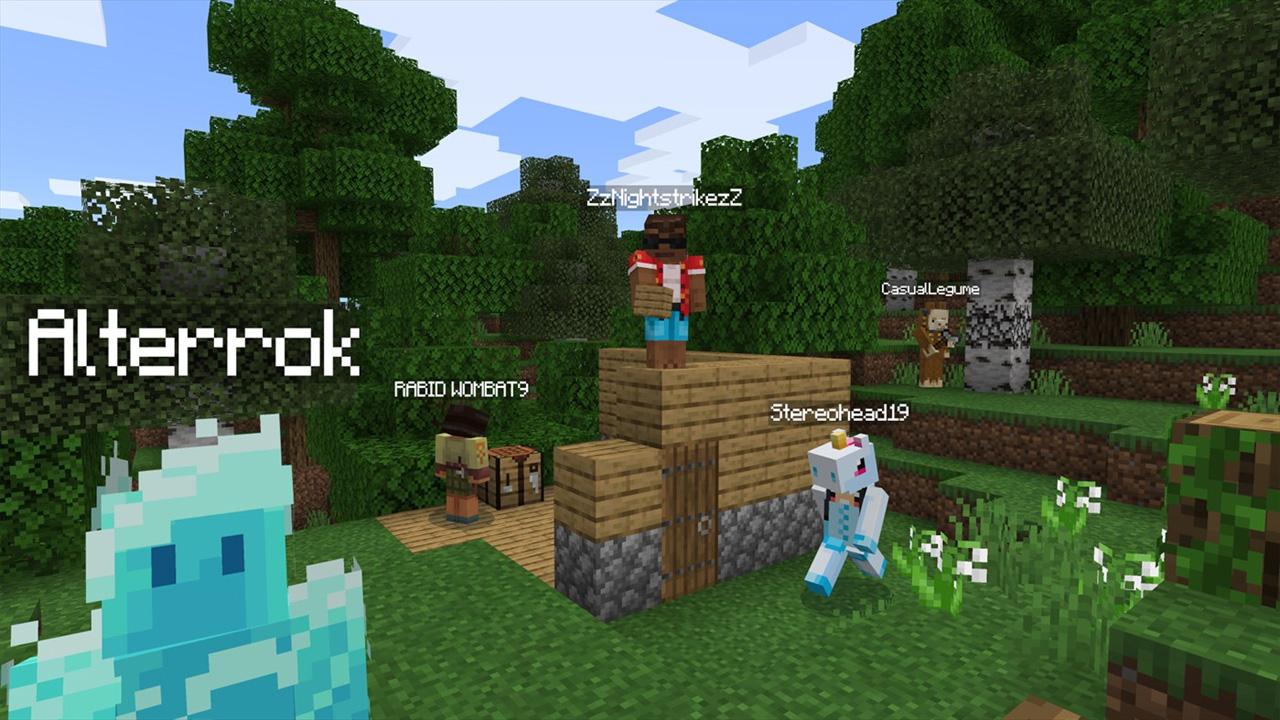 Aprenda como jogar Minecraft online com seus amigos e erga construções para conquistar esse mundo de blocos (Reprodução: Xbox Games Store)