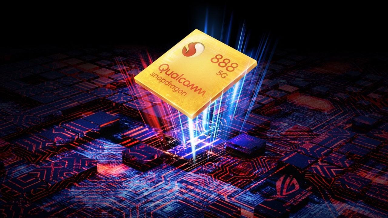 O Snapdragon 888 é o processador mais potente do mundo. (Foto: Divulgação / Rog Phone)
