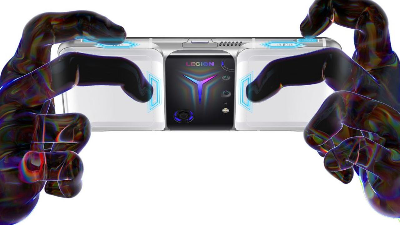 Ao todo são 8 botões adicionais para o Lenovo Legion Phone Duel 2. (Foto: Divulgação/Lenovo)