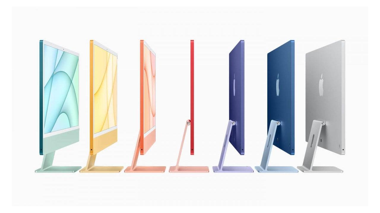 Cores do novo iMac com M1 (Foto: Divulgação/Apple)