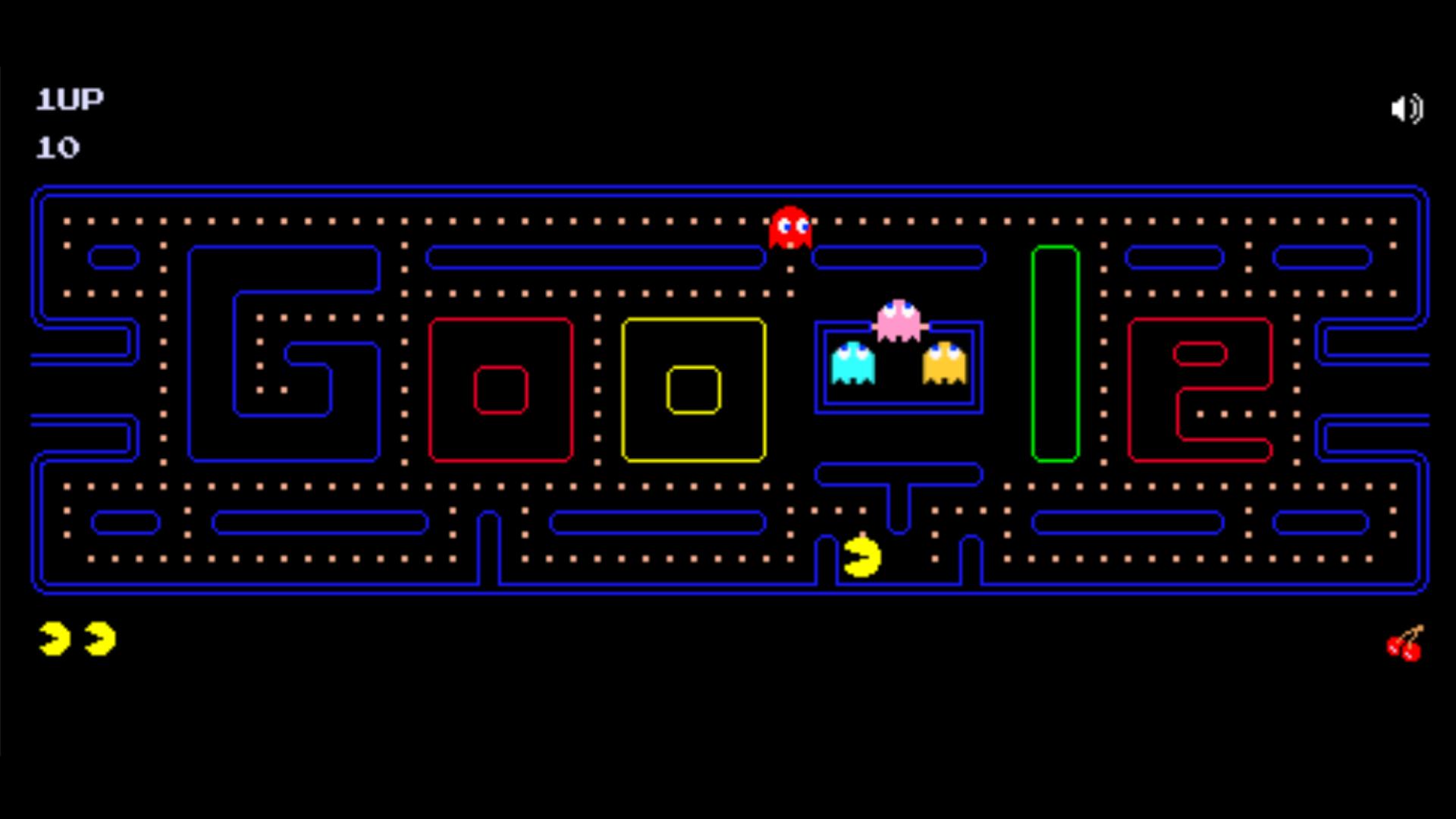 Um dos jogos clássicos tomou nova forma no Google Doodle (Fonte: Google Doodle)