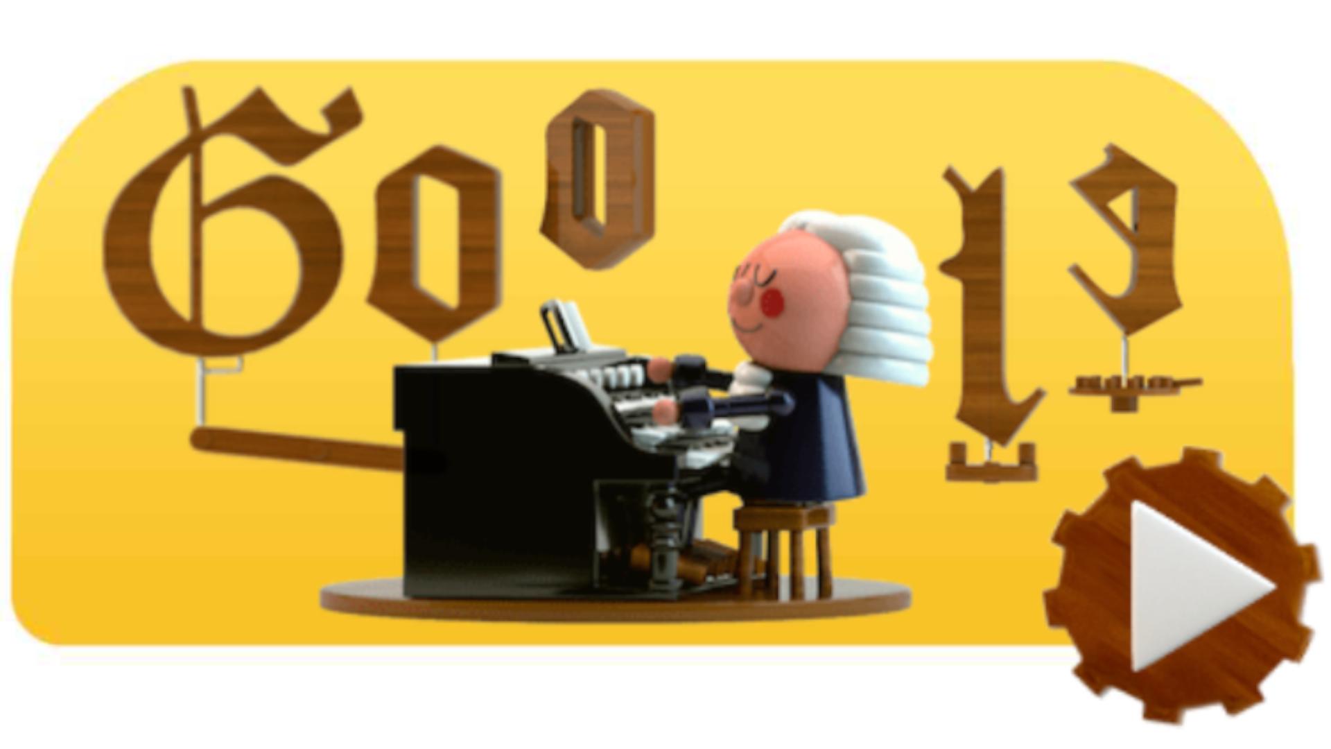 Inteligência Artificial do Google Doodle ajuda você a criar melodias de Bach (Fonte: Google Doodle)