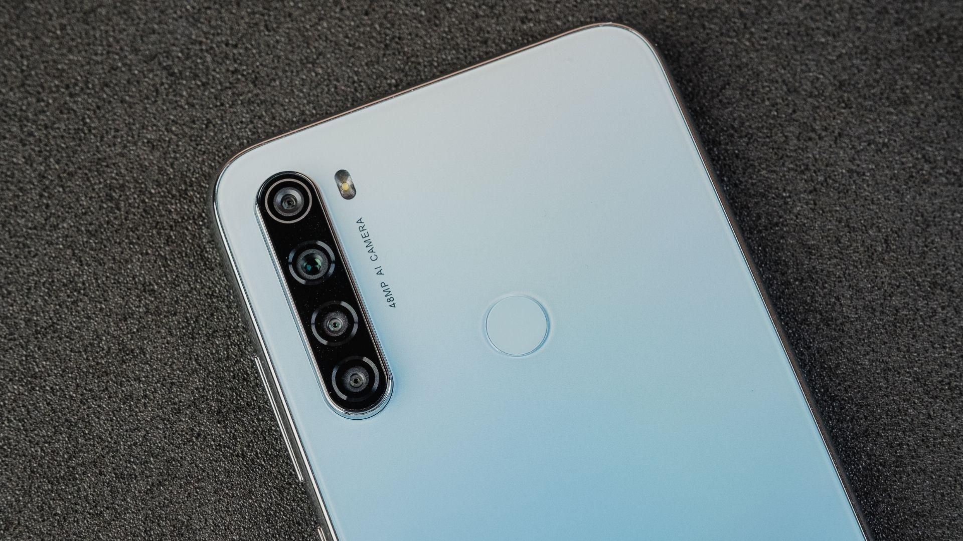 Conjunto de câmeras traseiras do Redmi Note 8 (Foto: Zoom)