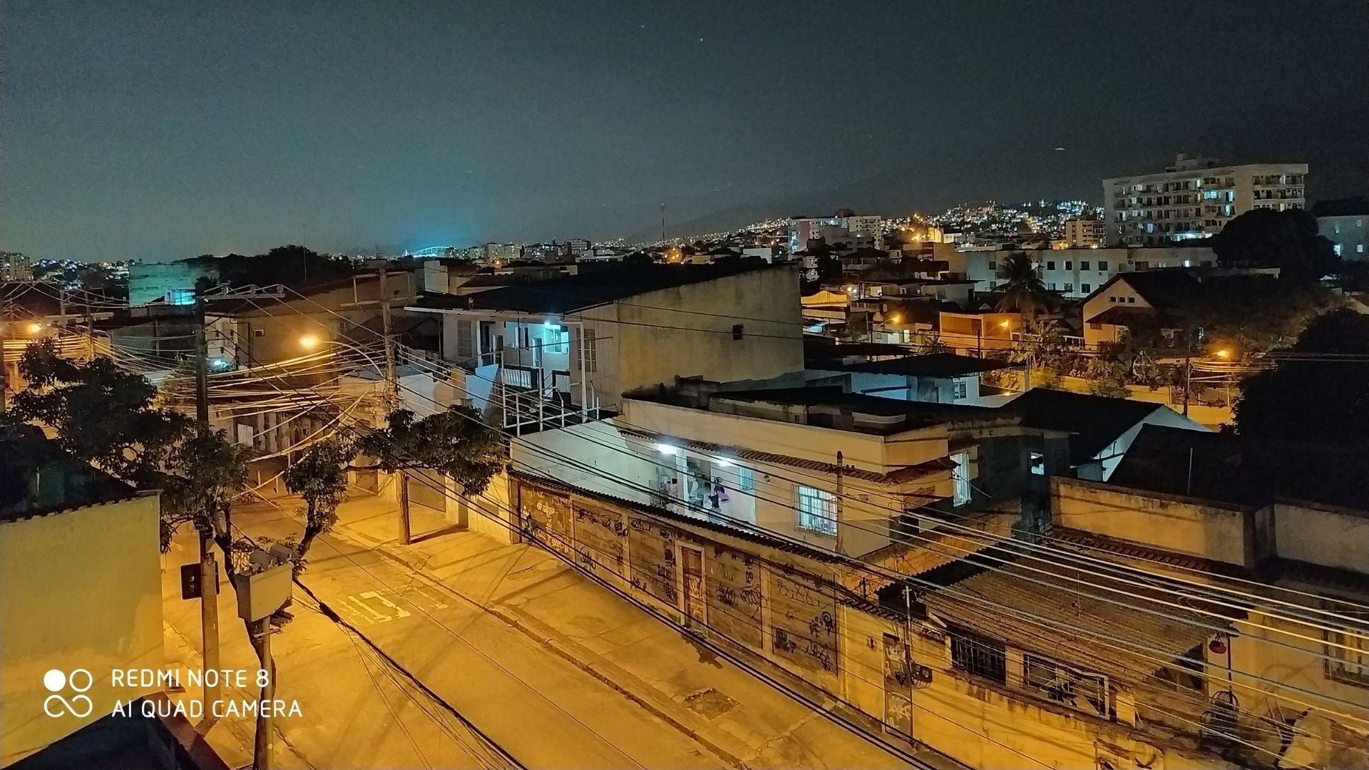 Foto tirada à noite com o Modo Noturno Redmi Note 8 (Foto: Aline Batista/Zoom)