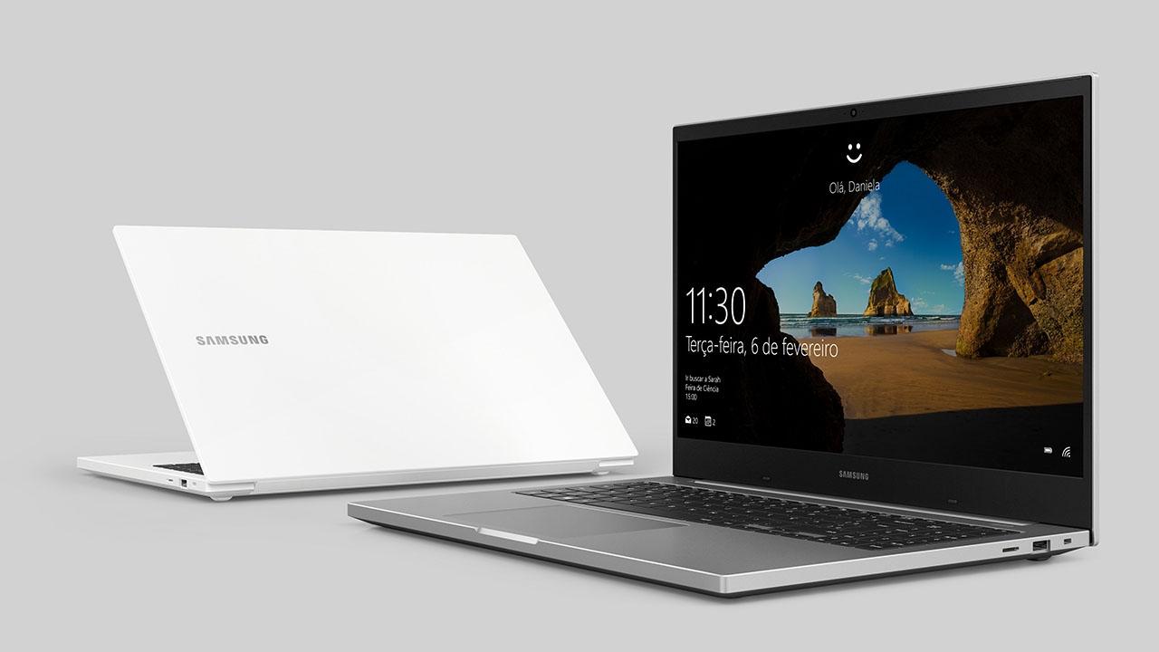 Design dos notebooks Samsung i3 (Foto: Divulgação/Samsung)