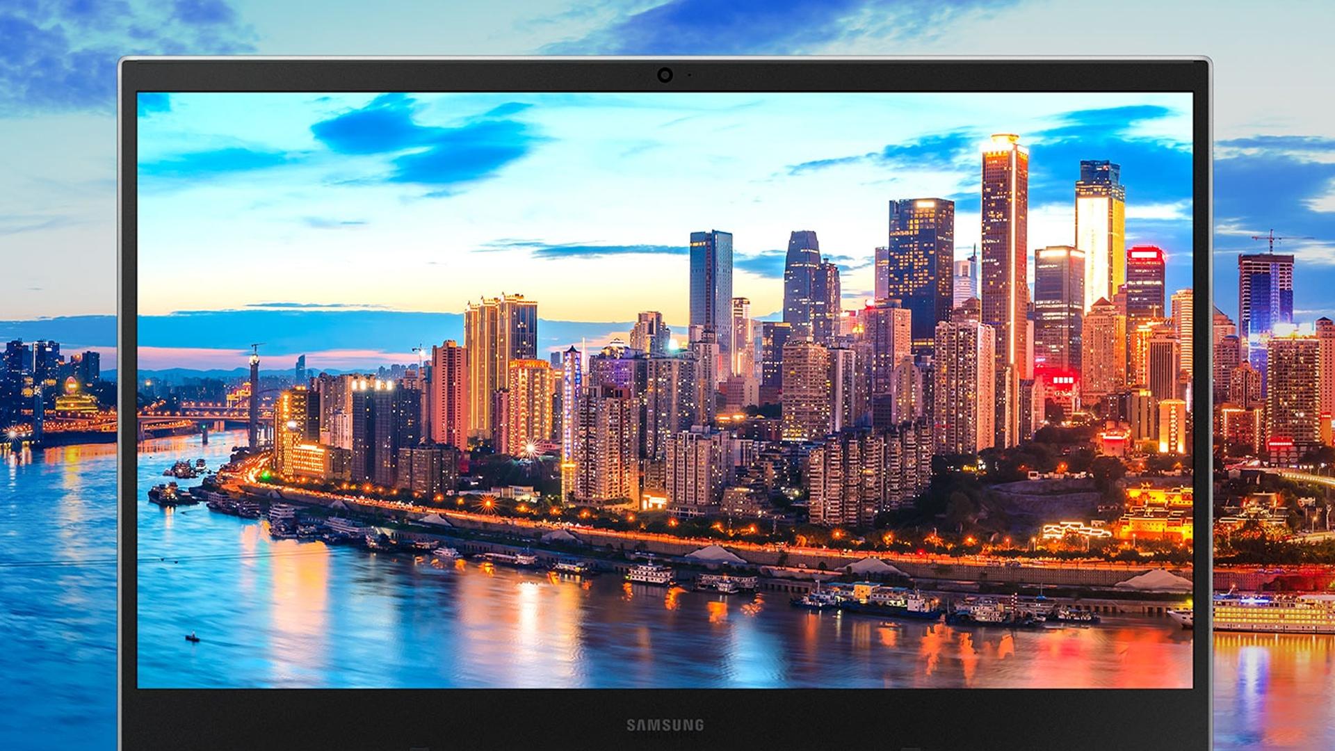 Tanto o Book E30 quanto o Book E40 contam com tela Full HD. (Foto: Divulgação/Samsung)