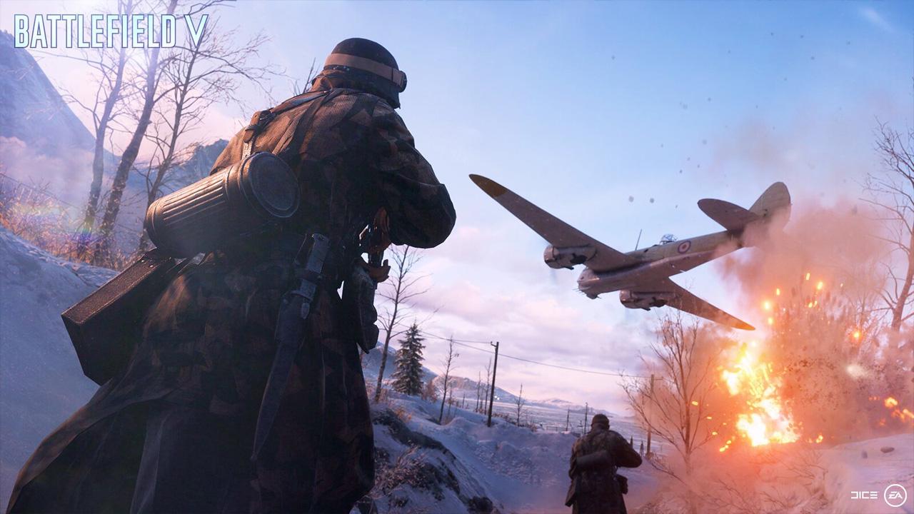 Battlefield 5 retorna à Segunda Guerra Mundial com foco em multiplayer e campanha em formato de histórias curtas (Reprodução: PlayStation Blog)