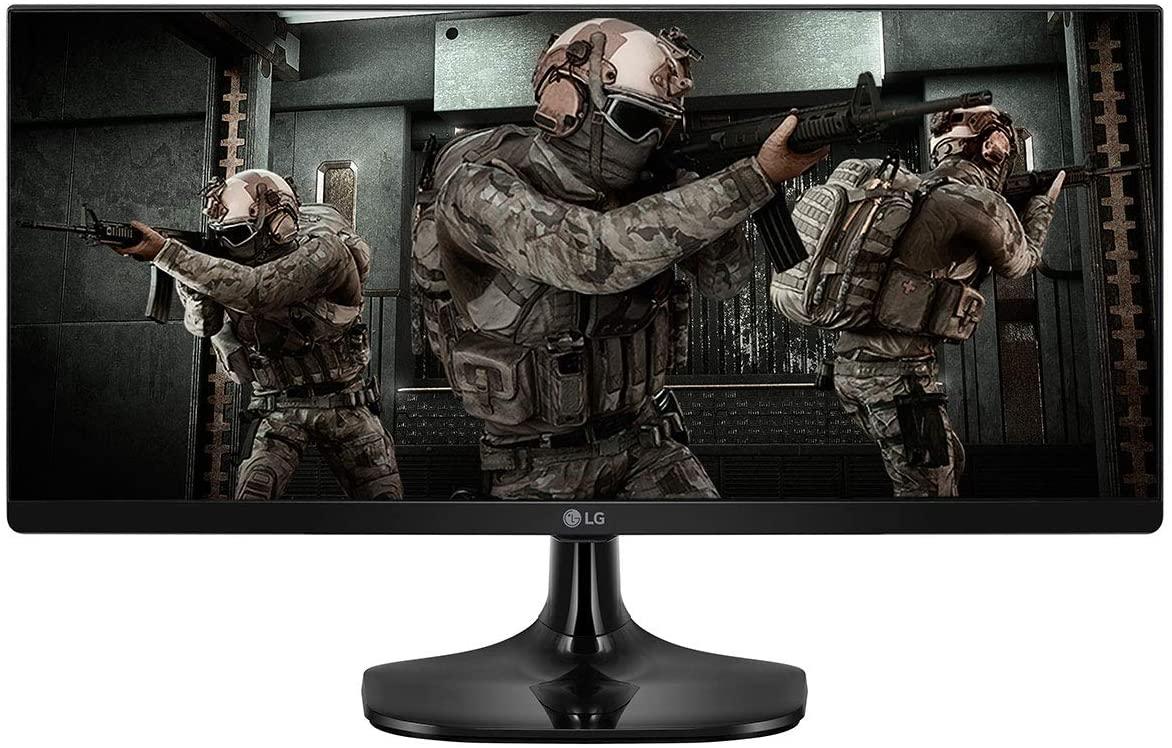Procurando monitor gamer barato? O LG 25UM58G tem ótimo tempo de resposta (1ms) e painel IPS de 25 polegadas (Foto: Divulgação/LG)