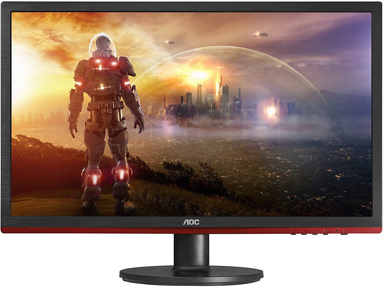 Monitor gamer barato? O AOC G2260VWQ6 tem tela de 21,5 polegadas com tecnologia antirreflexo e tempo de resposta de 1ms (Foto: Divulgação/AOC)