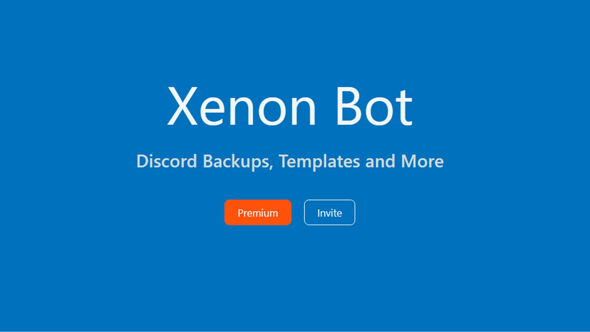 Veja como o Xenon bot pode te ajudar no Discord (Foto: Divulgação/Xenon Bot)
