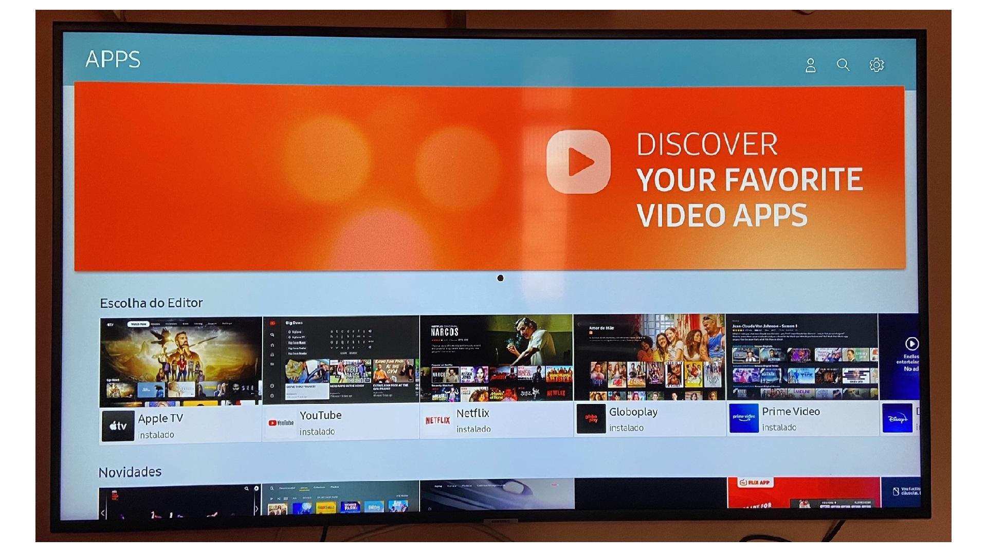 Veja o passo a passo de como instalar a Play Store na Smart TV Samsung (Imagem: Arquivo Pessoal/Dayane Barbosa)