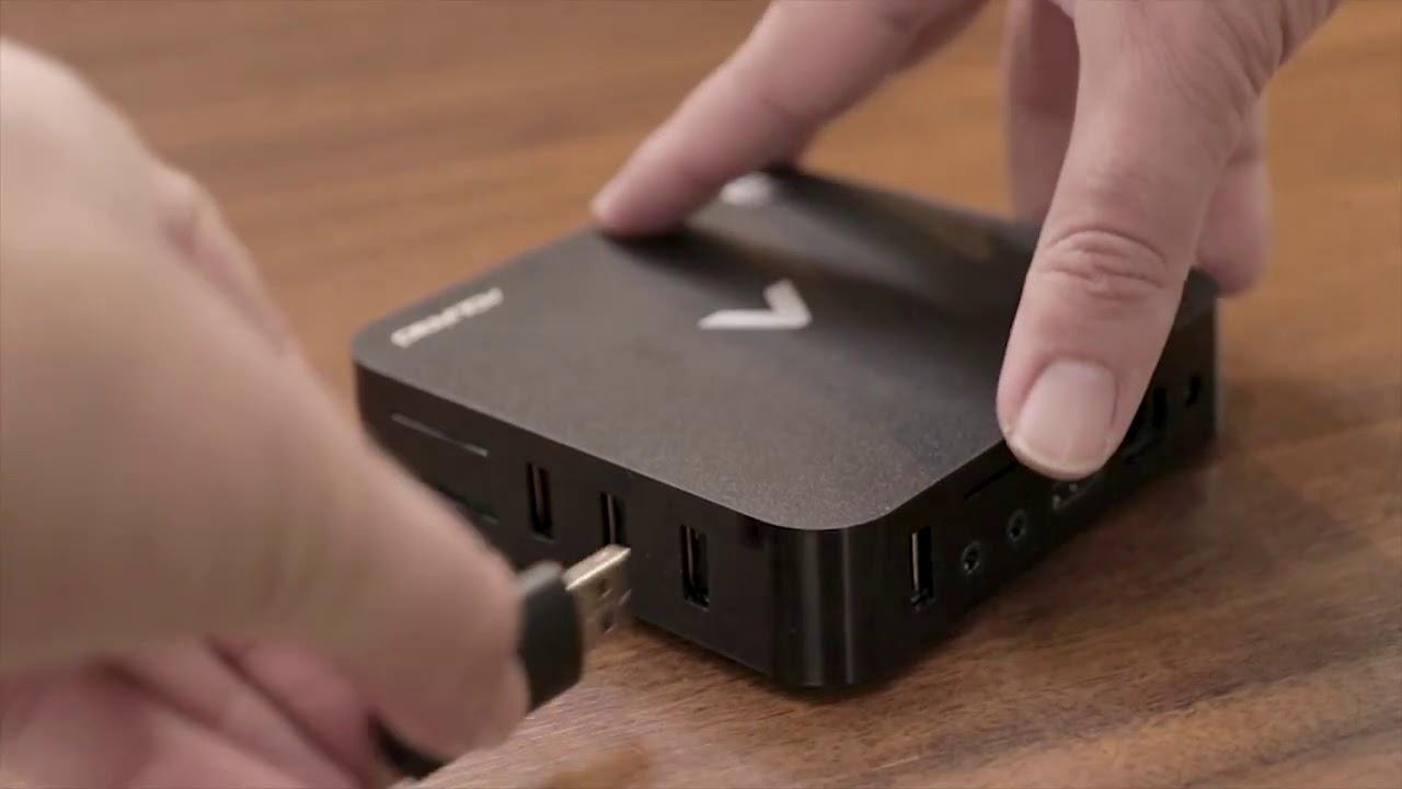 A STV-2000 possui diversas conexões e cabe na palma da mão. (Imagem: Divulgação/Aquário)