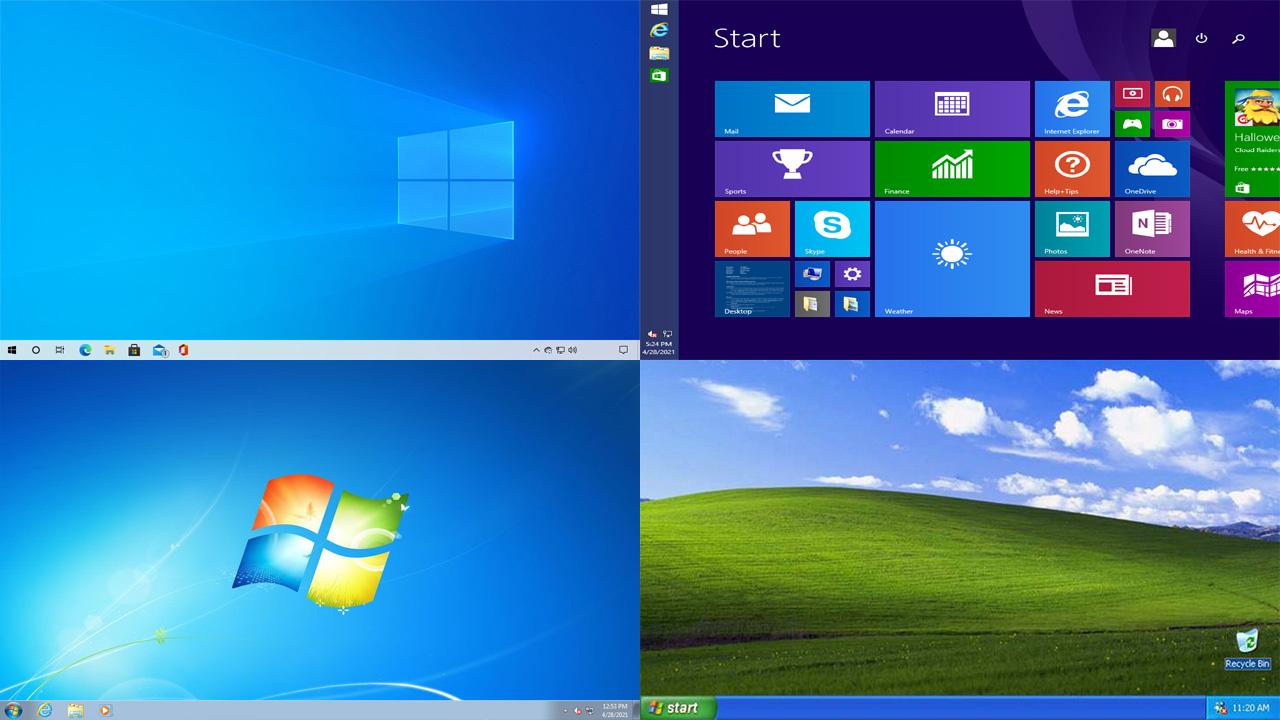 Uma das formas de como ver a versão do Windows é através do Desktop, o qual nem sempre é padrão, mas serve como indicativo (Reprodução: Redação Zoom)