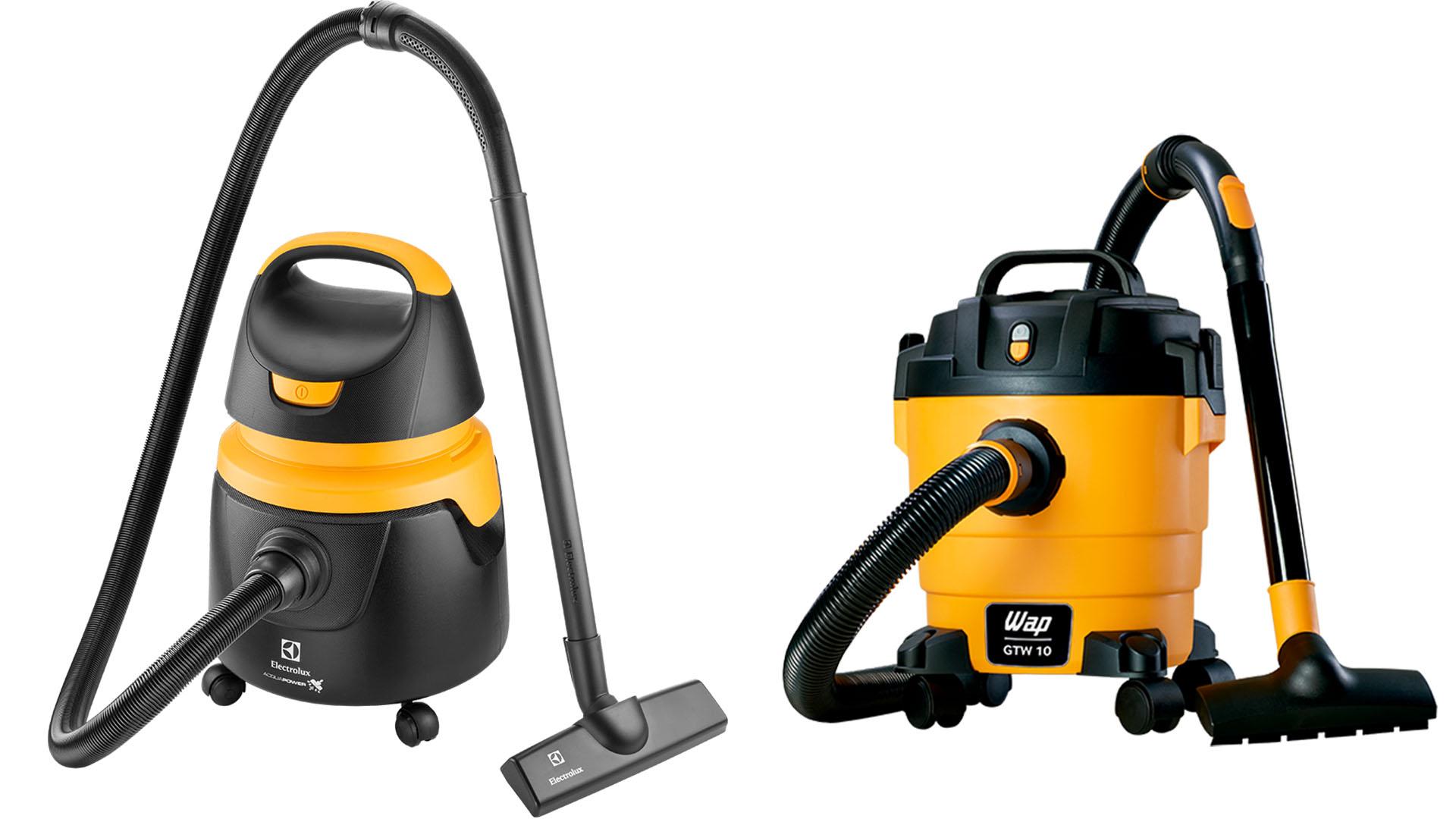 Os dois modelos de aspirador de pó e água têm uma quantidade satisfatória de acessórios (Fotos: Divulgação Electrolux/Wap)