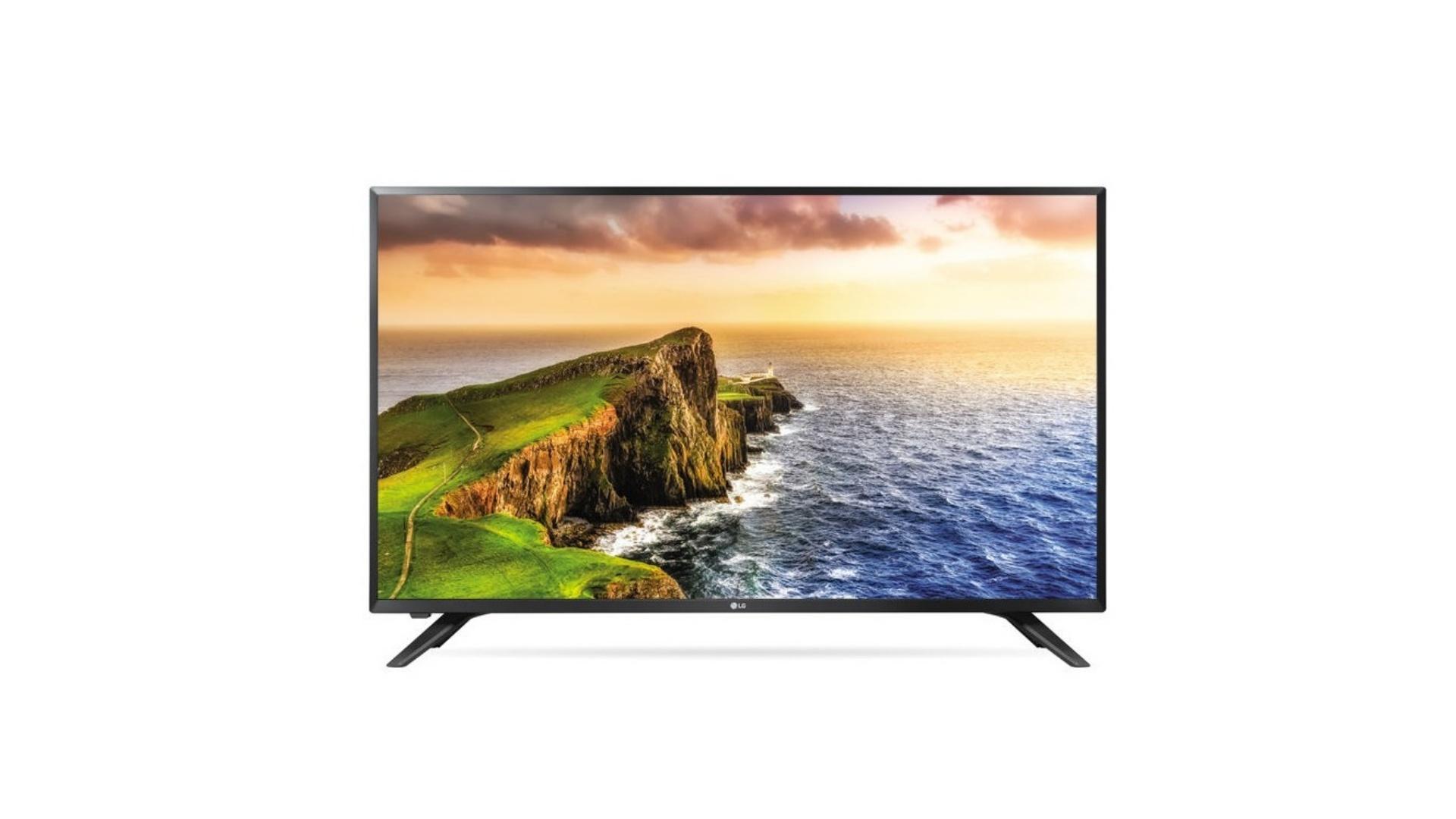 A TV LG LV300C possui 32 polegadas e tela de LED com resolução HD (Imagem: Divulgação/LG)