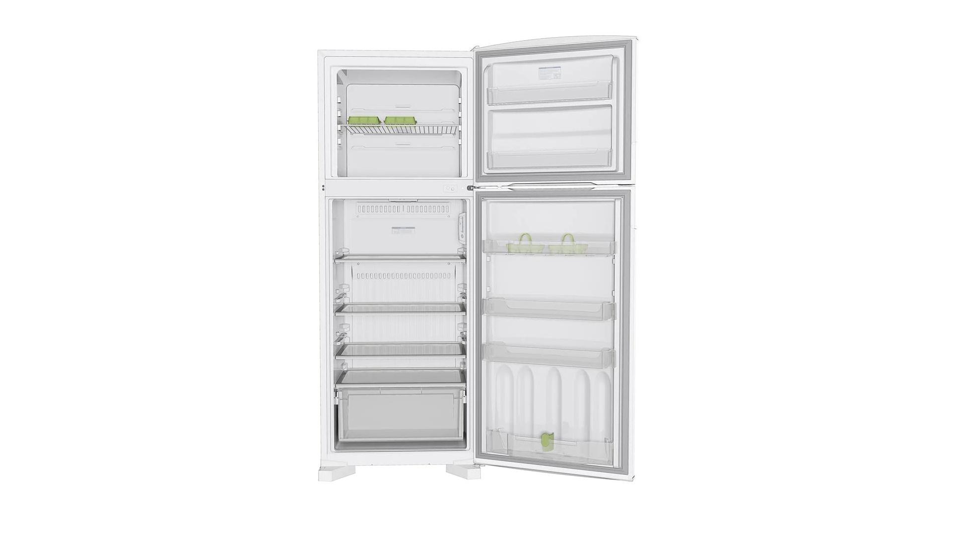 Com 451 Litros, a geladeira Consul CRD49AB armazena alimentos para até 5 pessoas (Imagem: Divulgação/Consul)