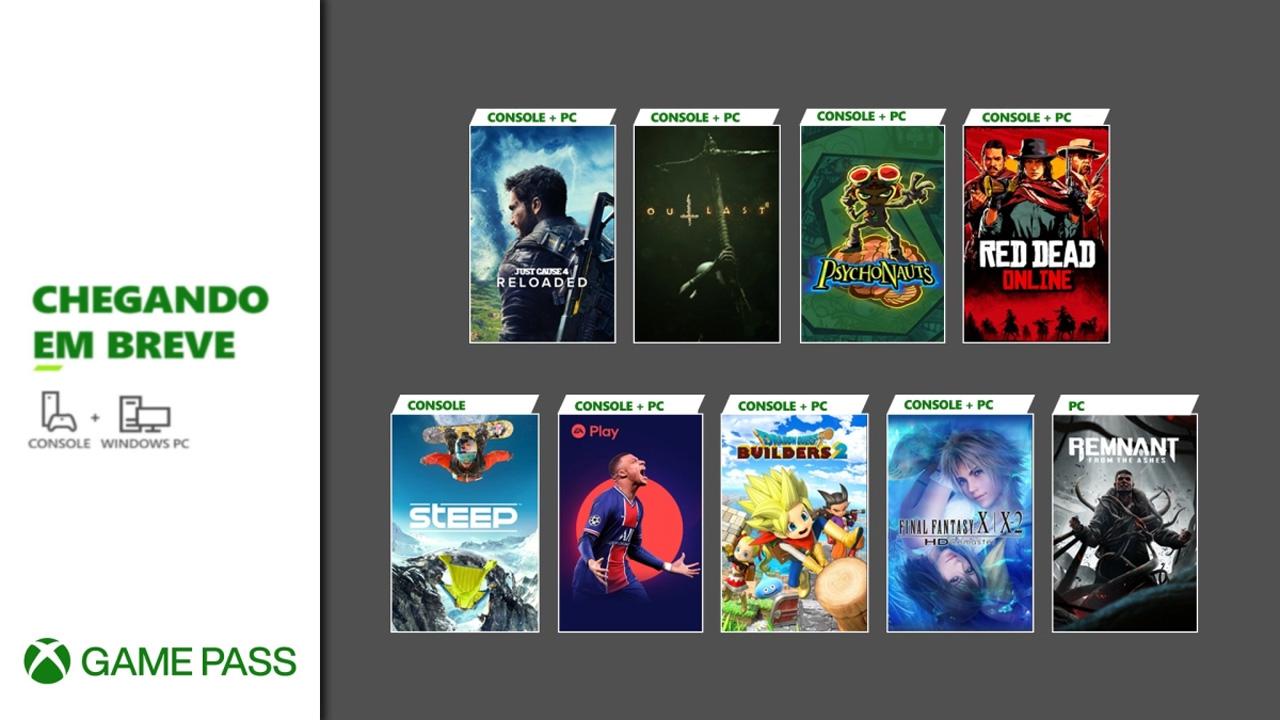 Xbox Game Pass recebe Final Fantasy X X-2 HD Remaster, Red Dead Online e mais em maio (Fonte: Divulgação/Microsoft)