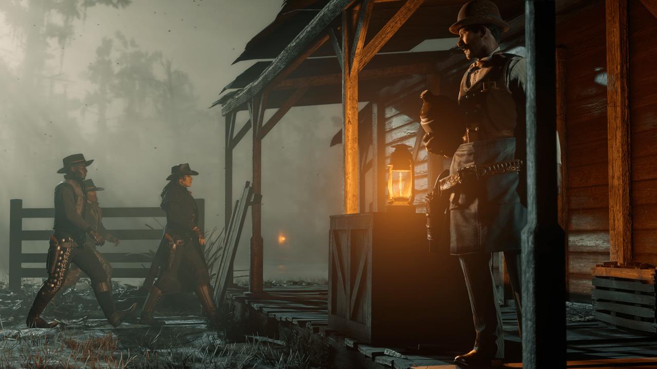 Red Dead Online traz a porção multiplayer de Red Dead Redemption 2 com atividades cooperativas e competitivas (Fonte: Divulgação/Rockstar)
