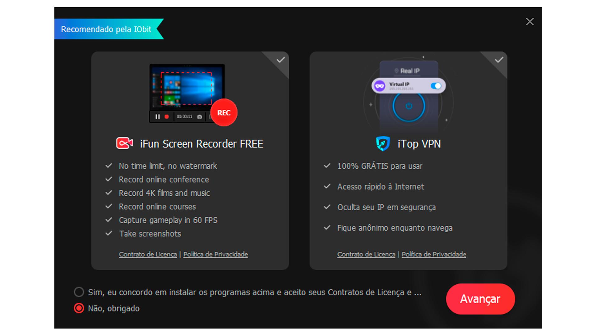 Os dois aplicativos são oferecidos pela empresa que desenvolve o Driver Booster (Foto/Hugo Iwaasa)