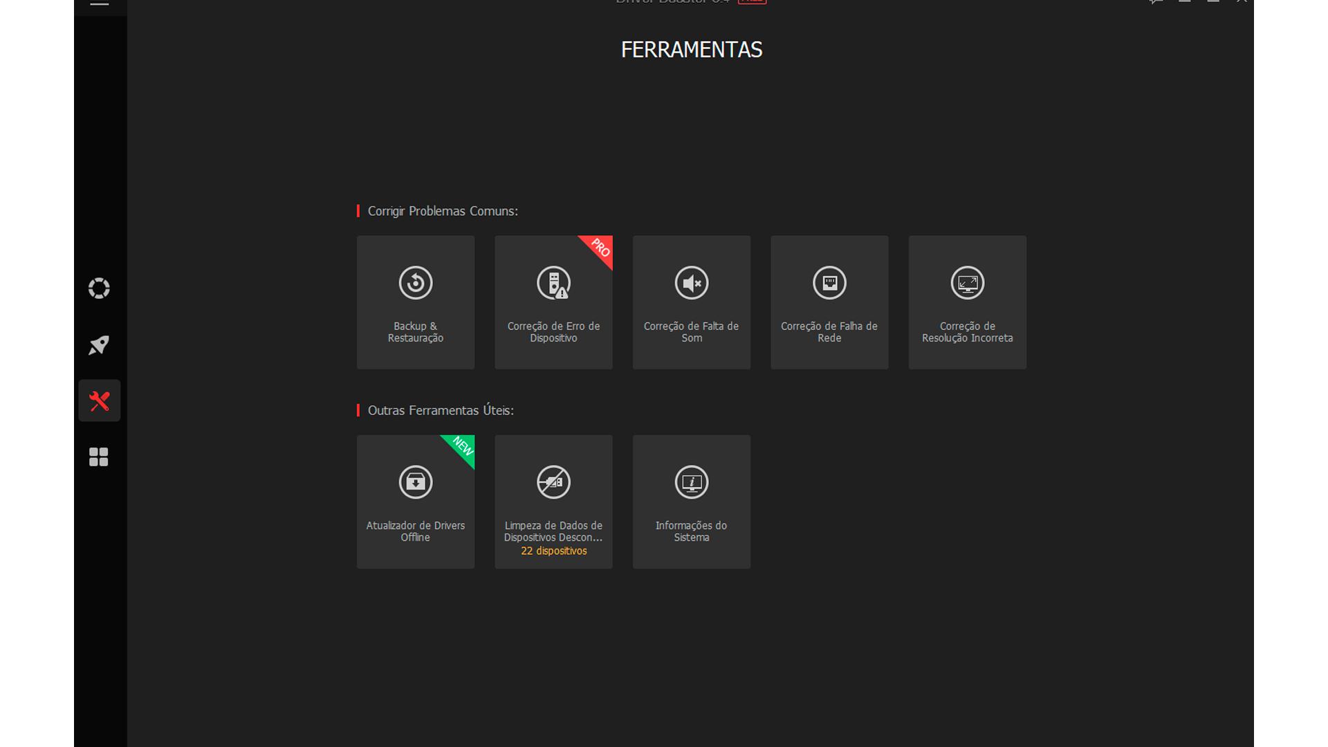 Mais ferramentas podem ser encontradas no menu Configurações (Foto/Hugo Iwaasa)