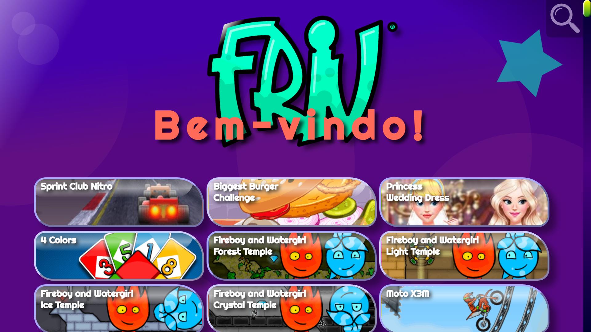 Friv tem dezenas de jogos diferentes para passar o tempo (Foto: Friv)