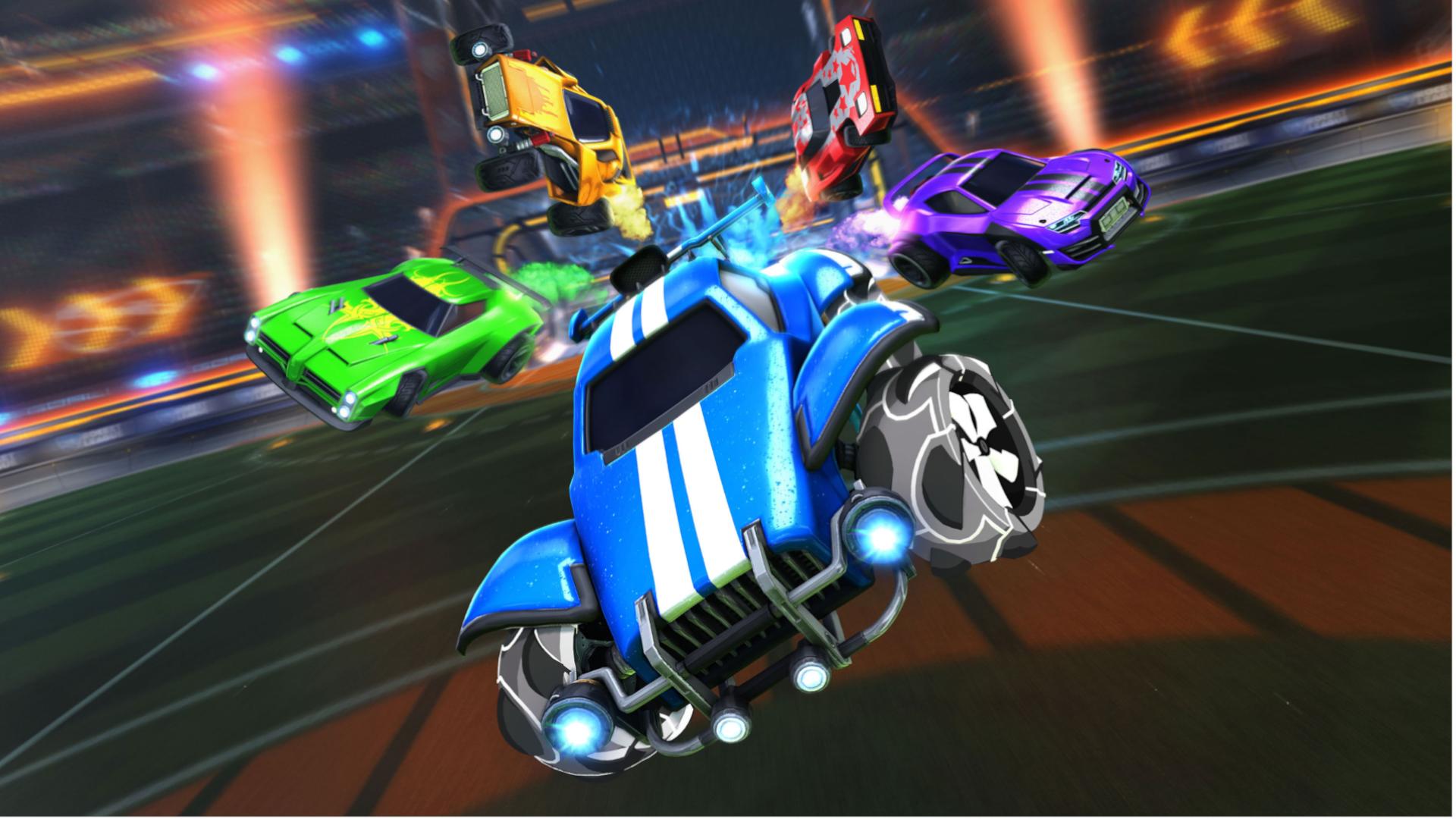 Rocket League mistura dois esportes populares em um jogo intenso (Foto: Divulgação/Psyonix)
