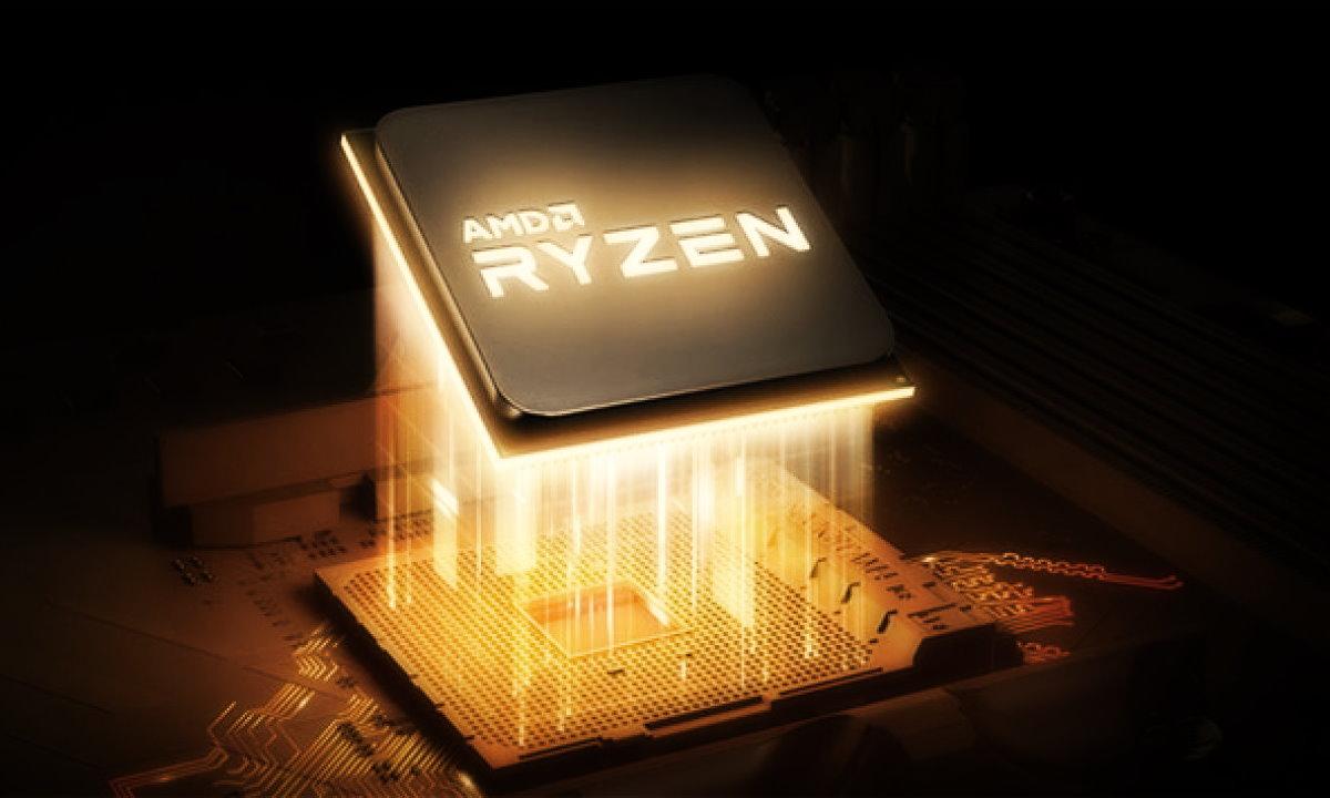 O processador Ryzen 7 3700U é um modelo quad-core. (Foto: Divulgação)