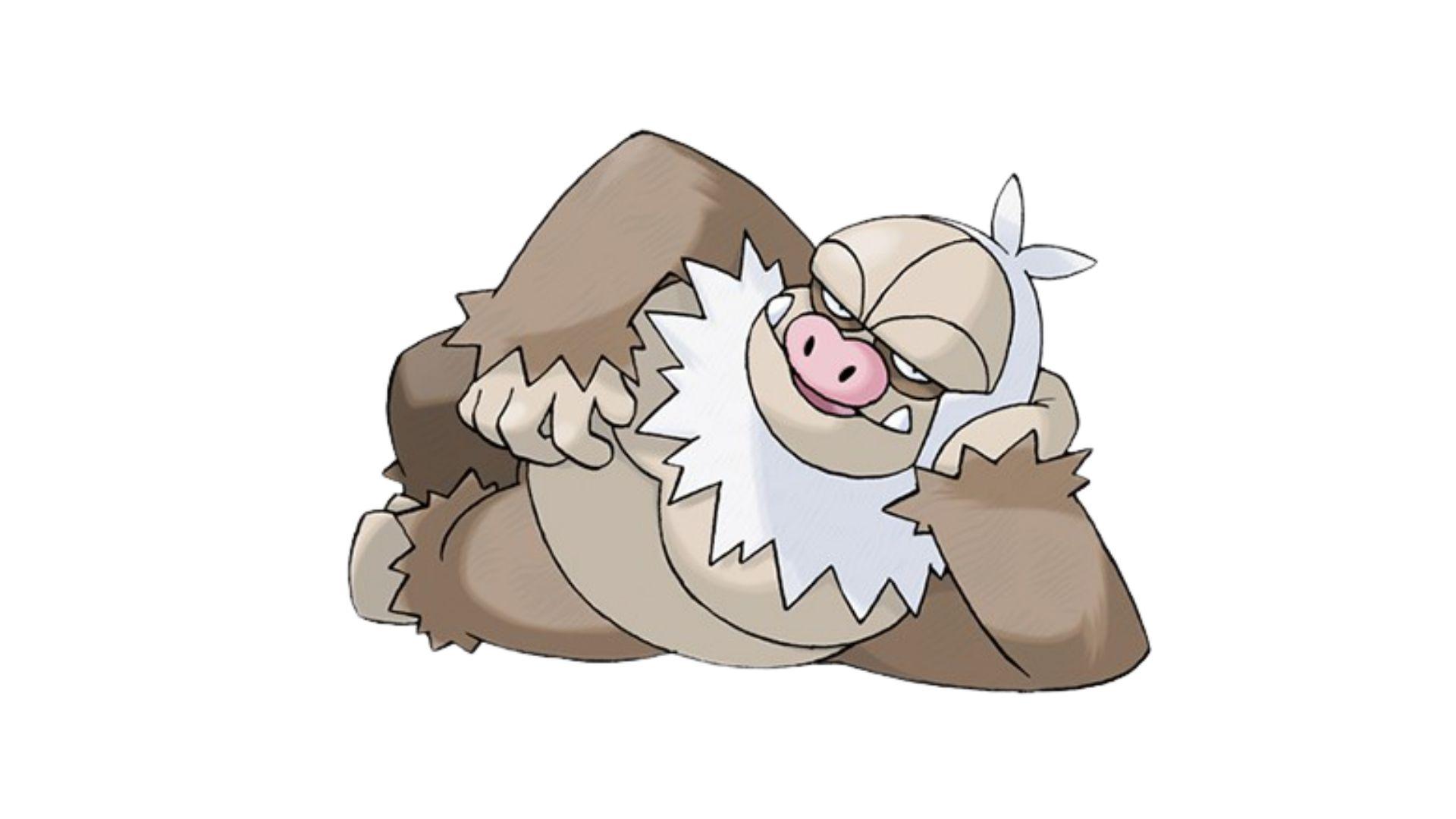 Alto nível de CP faz com que o Slaking esteja entre os pokémons mais fortes dos games (Foto: Divulgação/Pokémon)