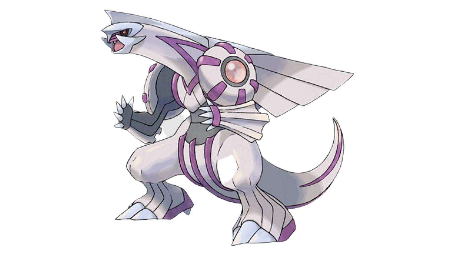 Contraparte e principal rival de Dialga, Palkia também está entre os pokémons mais fortes do game (Foto: Divulgação/Pokémon)
